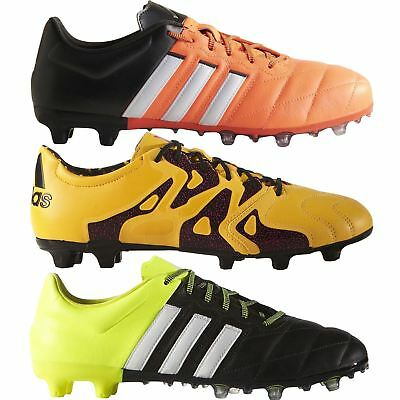 adidas 15.2 FG/AG FOOTBALL BOOTS UK 6 - UK 12 MEN'S 5 A SIDE ORANGE YELLOW GOLD
