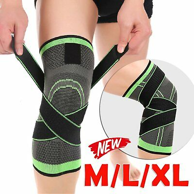 Sale Unisex Support Compression Socks Knee Pad 3D Knee Brace Sports Protector SS