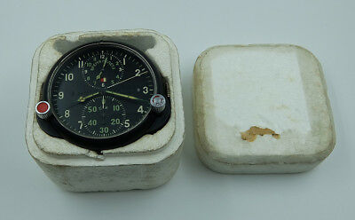 NEW! AChS-1 Russian Soviet USSR Military AirForce Aircraft Cockpit Clock #67275