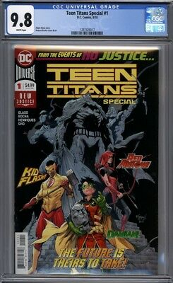 Teen Titans Special #1   1st Crush in Cameo  Lobo's Daughter 1st Print  CGC 9.8