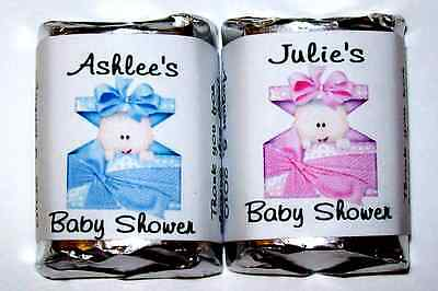 120 Baby Shower Candy Wrappers Labels Party Favors