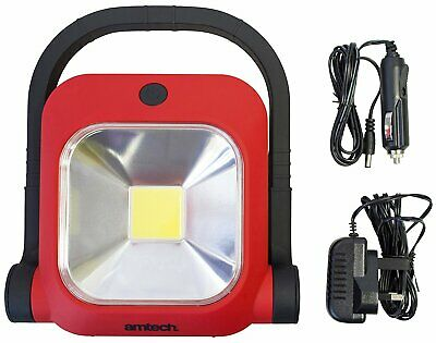 Cob 336 Led Cordless Rechargeable Work Light + Stand 3 Year Warranty + Chargers