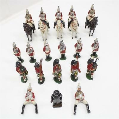 Timpo Toys Lead Scottish Highland Pipers Foot Cavalry Soldiers England #404