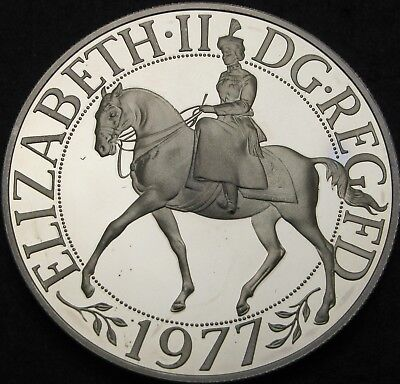 GREAT BRITAIN 25 New Pence 1977 Proof - Silver - Silver Jubilee - 1017 ¤