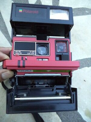 Polaroid Supercolor 645Cl Camera Uses 600 Film ~ Good Working Order
