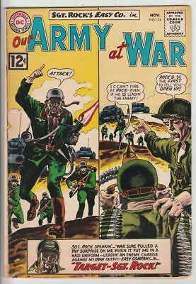 Our Army at War # 124 Strict FN+ Cover Joe Kubert Grey-Tone Sgt.Rock & Easy Co