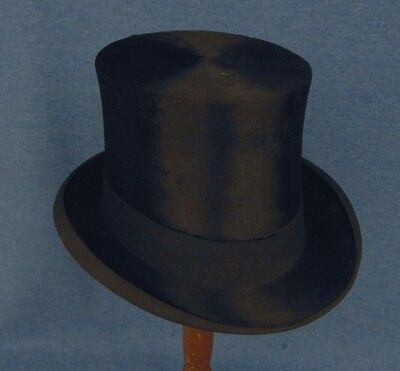 The Hub Baltimore Vintage Plush Top Hat Maybe Silk Nice Shape!