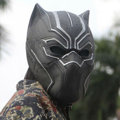 Black Panther Maske Sturmhaube Halloween Paintball Mask Film Marvel 3D Toys
