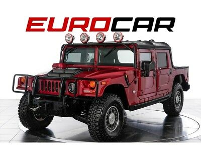 2006 Hummer H1 Alpha Open Top 2006 Hummer H1 Alpha OpenTop - DURAMAX DIESEL ENGINE, RARE FLAME RED PEARL PAINT