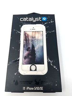 New Catalyst Water Proof Shock Resistant Case for Apple iPhone 5 / 5S / SE White