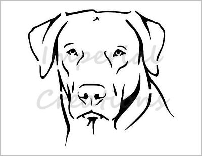 Black Labrador Dog Breed Embroidery Patch