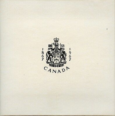 Amazing 1967 Royal Canadian Mint 6 Coin Set GA899