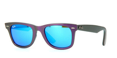 226a142c02 Brand New Ray-Ban Sunglasses RB 2140F Aisan Fit 611217 Metallic Violet 52
