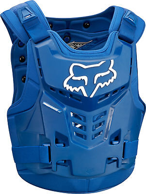 Fox Racing Proframe LC Chest Roost Protector Deflector Blue