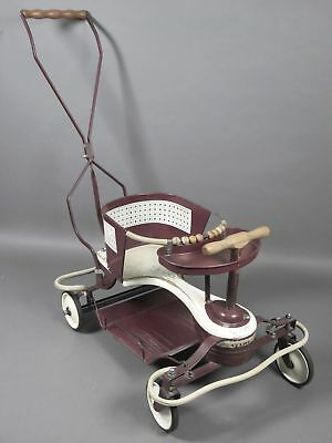 Vintage 1940-1950's Taylor Tot Baby Walker Stroller Original Good Condition