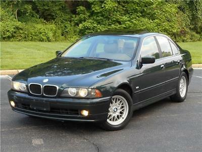 2002 BMW 5-Series 525i LOW MILES NON SMOKER 528 530 535 CLEAN CARFAX 2002 BMW 525i LOW MILES NON SMOKER 528 530 535 CLEAN CARFAX MUST SELL NO RESERVE