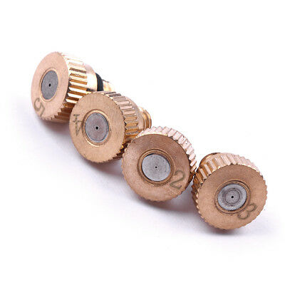 1PCS Brass Misting Nozzles Mister Garden Misting Thread Cooling Spray Nozzle
