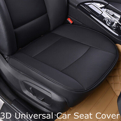 Universal Car Seat Cover PU Leather Deluxe Front Protector Cushion Breathable