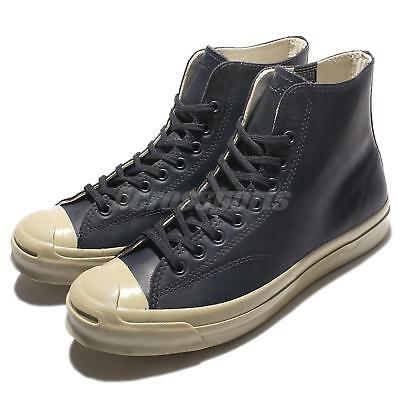 4a498d1a1ab Converse Jack Purcell Signature Rubber High Top Grey Mens Casual Shoes  153582C