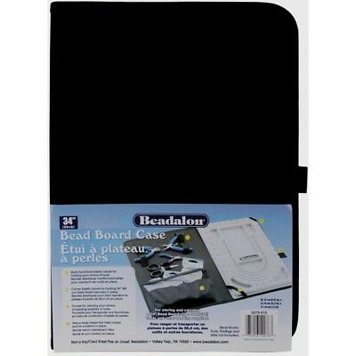 Black Canvas Bead Board Case - Beadalon 207s010 34 1pkg Best Price 95x15x135