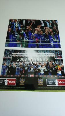 Portsmouth Fc 2008 Fa Cup Final Winners David James Kanu Sol Campbell Photos