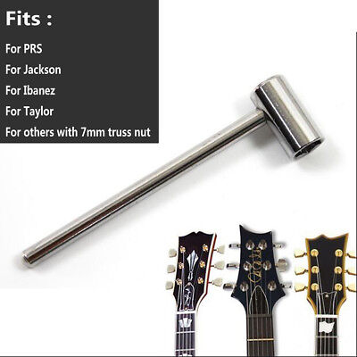 7mm Adjustable Truss Rod Wrench Repair Tool For Jackson Ibanez Luthier Guitar