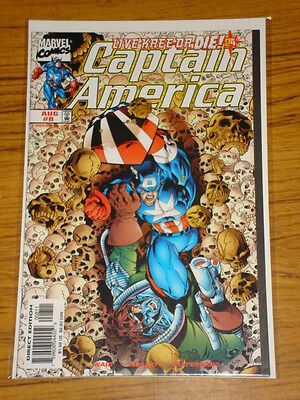 Captain America #8 Vol3 Marvel Comics August 1998