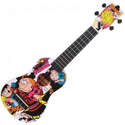 The Beano - Minnie The Minx Design Bnuk03 Ukulele Outfit- New - Great Gift Idea
