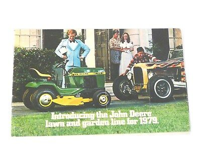 JOHN DEERE 1979 Lawn & Garden Line Brochure FULL COLOR