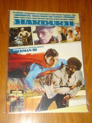 Starburst #60 British Sci-Fi Monthly Magazine August 1983 Superman Doctor Who