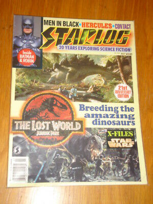 Starlog #240 Sci-Fi Magazine July 1997 Jurassic Park Lost World Batman Robin