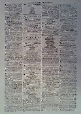 1861 ADVERT PETER ROBINSON-THE NEW COVENTRY CAMBRIC FRILLING-HOWELL,JAMES & Co
