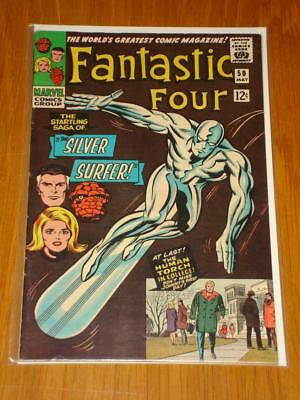 Fantastic Four #50 Marvel Comic May 1966 Vf (8.0) *