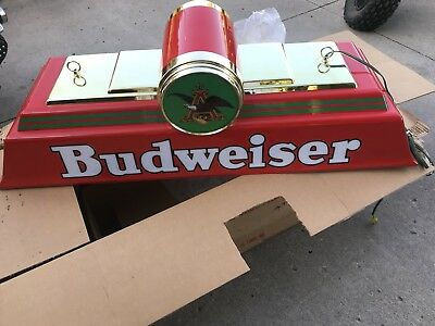 Budweiser Classic Pool Table Lamp