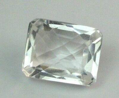 Feiner Feuriger Bergkristall Octagon Checker Cut 23,75 Ct Vs