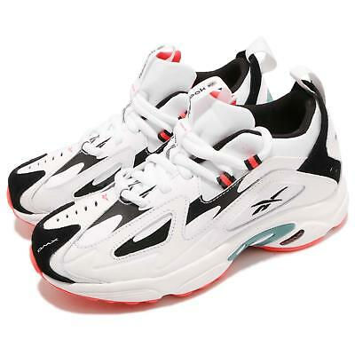 Reebok DMX Series 1200 White Black Neon Red Men Running Daddy Shoes CN7590 d522836e8