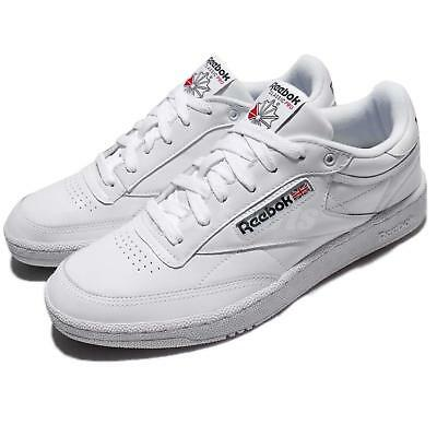 81dbc892081 Reebok Club C 85 Pro Leather White Classic Men Shoes Sneakers Trainers  CM9430
