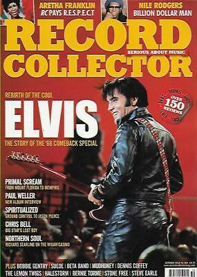 Record Collector Magazine 484 October 2018 (Elvis, Aretha Franklin, Weller) New