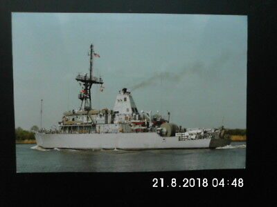 US Navy -  Farbfoto - USS Scout - MCM-8 - Mine Countermeasures ship - 1990