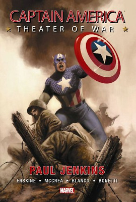 Captain America: Theater Of War HC (Captain America (Unnumbered Hardcover)), Jen