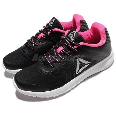 fbd54912ad5 Reebok Instalite Run Black White Pink Women Running Shoes Sneakers BS8478