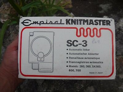 Empisal Knitmaster Sc-3 Automatic Linker In Box