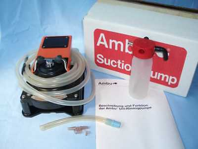 (906f) Ambu Absaugpumpe mit Suction Booster in OVP