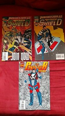 Punisher 2099 #28, 29 & 34 Last Issues Hard to Find FN to NM!