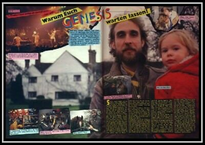 Vintage double page article GENESIS, Germany, November 1983 !!!
