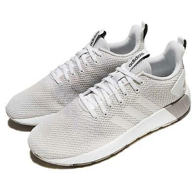 adidas Questar BYD White Grey Men Running Shoes Sneakers Trainers DB1539