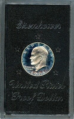 Astounding 1973-S United States Eisenhower Proof Dollar $1 Coin CE675