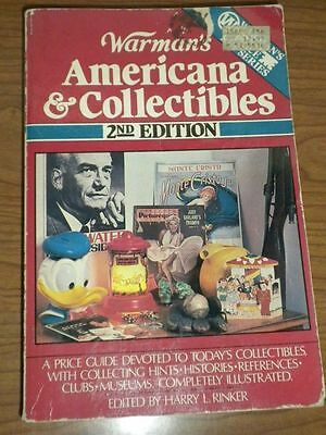 Warman's AMERICANA & COLLECTIBLES Book 2nd Edition 1986
