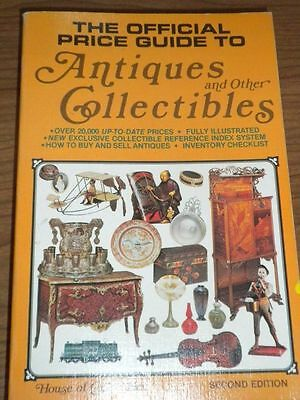 The Official Price Guide of ANTIQUES & Other COLLECTIBLES 1980 Book