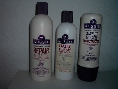 Aussie Shampoo Repair Miracle Conditioner 3 min Reconstructor Intensivkur NEU